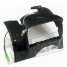 Koplamp kap Solex  4800 zwart met schakelaar