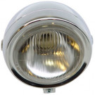 Koplamp Puch Maxi rond chroom
