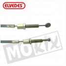 Koppeling kabel Zundapp +15cm grijs