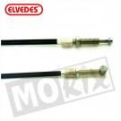Koppeling kabel Zundapp +15cm zwart