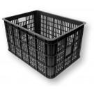 Krat Basil crate-L groot 50ltr zwart