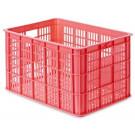Basil Crate-S Klein 25 liter Fluor-Coral
