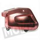 Luchtfilter huis Yamaha BW'S transparant / rood compleet