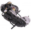 Motor blok compleet GY6 10-inch met Lange achteras - Inclusief Carburateur