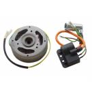 Ontsteking - Stator en vliegwiel elektrische Puch Maxi model-Bosch