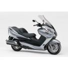 Kappenset - Plaatset  Suzuki Burgman 400 13 delig zilvergrijs-metallic