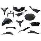 Kappenset - Plaatset  Suzuki Burgman 400 13 delig zwart-metallic 2007-2012