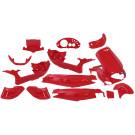 Plaatset Gilera Runner (tot bj.08-2005) 15-delig Ferrari Rood