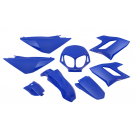 Kappenset - Plaatset  Derbi Senda DRD-PRO 8 delig  blauw