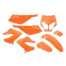Kappenset - Plaatset Derbi Senda-DRD/Xtreme 8 delig oranje tot boujaar 2010