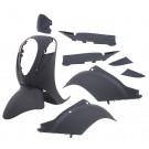 Kappenset - Plaatset Sym Mio 10-DLG mat-zwart