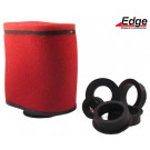 Luchtfilter -powerfilter Edge rood 28-60mm rubber