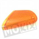 Richtingaanwijzer Glas Honda Vision MI oranje  links voor