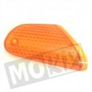 Richtingaanwijzer Glas Honda Vision MI oranje  rechts voor