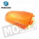 Aanbieding: Richtingaanwijzer Glas Piaggio Velofax rechts achter origineel