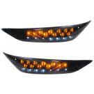 Richtingaanwijzer Piaggio Zip-SP, Zip 2 takt-4Takt vanaf bouwjaar 2000 LED links en rechtsvoor R8-St