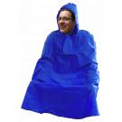 Regenponcho groot volwassen - assortiment geel en blauw