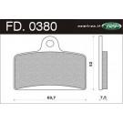 Remblokset Newfren FD0380 Derbi GP1, GPR