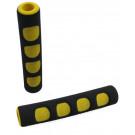 Rengreepcover zwart/geel