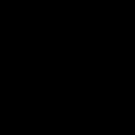 Remgreepset Miranda 3-Vinger Zwart/Mat-Zilver