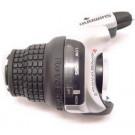 Shifter links Shimano Tourney SL-RS45 3 speed (zwart/zilver)
