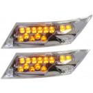 Richtingaanwijzer  Piaggio Zip-SP, Zip 2 takt-4Takt vanaf bouwjaar 2000 LED links en rechtsachter R8