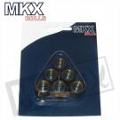 Variorollen  6 stuks 19x15,5 MKX 10.3gr