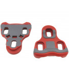 Schoenplaatjes Keo compatible 6-graden root/grijs