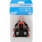 Schoenplaatjes Shimano SM-SH10 Spd-SL-  rood (zonder speling)