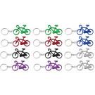 Sleutelhanger fiets 12 stuks