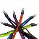 Snelbinder - Triobinder Retro in 6 verschillende kleuren voor 20 fietsen met RVS universele beugel (