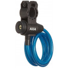 Spiraalkabelslot AXA Zipp 120/8 - blauw (op kaart)