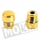 Stuurgewicht set PVC goud