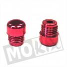 Stuurgewicht set PVC rood