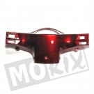 Stuurkap achter China retro scooter GY6 rood