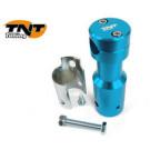 Stuurpen - clamp Peugeot Speedfight aluminium-blauw TNT
