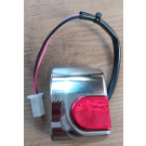 Aanbieding: Stuurschakelaar - startknop Rechts Yamaha Aerox t/m Bouwjaar 2012 chroom