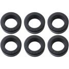Tandwiel rubber set Zundapp  6dlg nieuw model