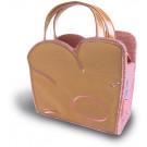 Tas Basil Jasmin-XS bag  21x8x13cm  2 liter roze/goud