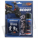 Tattoo your scoot Naughty wit