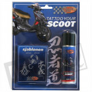 Tattoo your scoot Tribe zilver