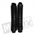 Voorvork rubbers Vespa Citta zwart  200mm (set)