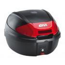 Topkoffer - bagagebox GiVi E300 Monolock zwart 30 Liter