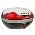 Topkoffer - bagagebox GiVi V46 Monokey wit 46 liter