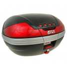 Topkoffer - bagagebox GiVi V46 Monokey zwart glans 46 liter