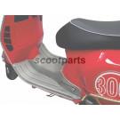 Treeplank rubber Vespa GTS grijs