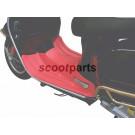 Treeplank rubber Vespa GTS rood