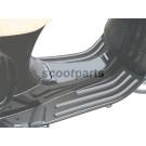 Treeplank rubber Vespa LX zwart, grijs