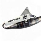 Uitlaat Doppler S3R Minarelli Verticaal wit
