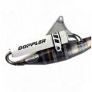 Uitlaat Doppler S3R Peugeot vertikaal wit